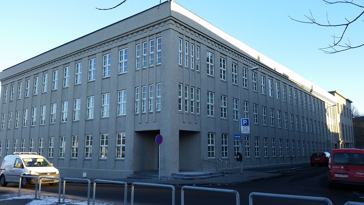 Fjármálaráðuneytið - Arnarhvol og gamli hæstiréttur